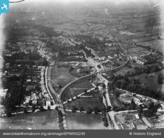 Park Cottage aerial view