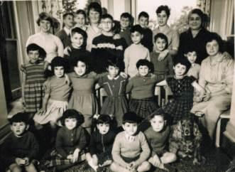 Children at Chestnuts Home, c 1962