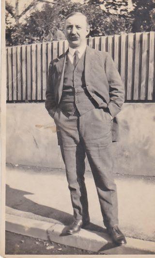 Terence Morton's grandfather, Edmund Wilkin Morton