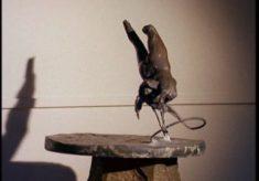 Film of Reg Butler, sculpture