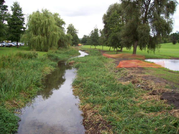 River Gade in Gadebride Park | L.C.Howard