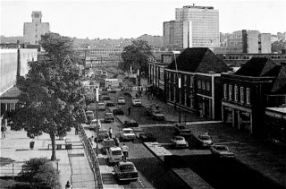 Marlowes from Tiered Car Park (looking South) | Herts Archives