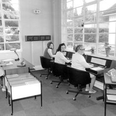 Staff of the John Dickinson telephone exchange system, 1970's | The Dacorum Heritage Trust