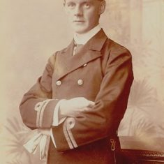 Lt.Lionel Halsey in naval uniform | The Dacorum Heritage Trust Ltd