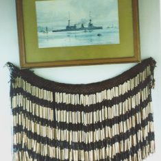 Maori warrior's grass skirt worn by Lionel Halsey during the Battle of Heligo Bight | The Dacorum Heritage Trust Ltd