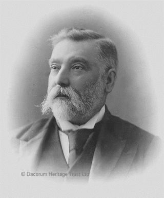 Alderman Walter Henry Edward Dowling, the last Bailiff of Hemel Hempstead between 1895-98 and then provisional mayor. He was an Associate of the College of Preceptors and became a respected headmaster of Heath Brown Grammer School | Dacorum Heritage Trust Ltd