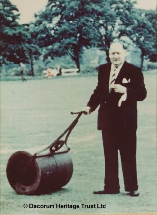 Joe Cruickshank, Chairman of Hemel Hempstead Cricket Club 1959-62 | Dacorum Heritage Trust