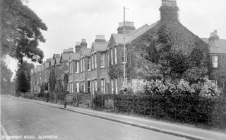 Photograph showing Sebright Road, Boxmoor. | The Dacorum Heritage Trust