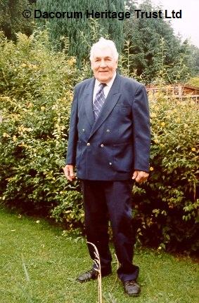Hemel Hempstead boxer, Charlie Collett | Dacorum Heritage Trust