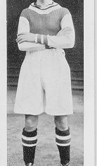 Frank Broome in an Aston Villa strip | Berkhamsted Local History and Museum Society cared for by the Dacorum Heritage Trust