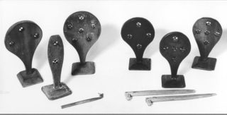 Selection of different types of straw splitter. The three on the right were made by J. Austin of Akeman Street, Tring | The Dacorum Heritage Trust