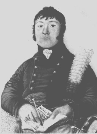 Portrait of William Buckingham (1768-1829) c.1805. Buckingham was Agent to the Earl of Bridgewater. He can be seen here wearing the uniform of a senior non-commissioned officer of the Ashridge Troop of the Yeomanry Calvary | The Dacorum Heritage Trust