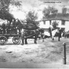 Hemel Hempstead Volunteer Fire Brigade c.1902. | Dacorum Heritage Trust