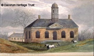 The Court House at Colonial Willamsburg, 1860 | Dacorum Heritage Trust