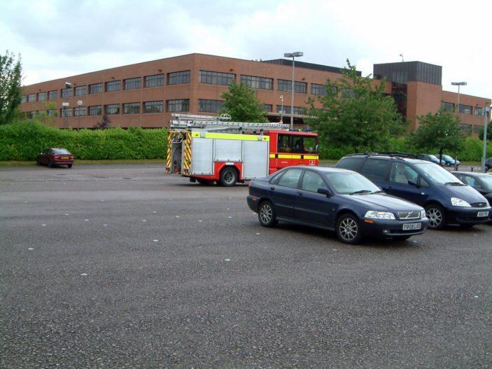 Fire Drill in car park | Bill Koolen