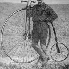 Thomas (Tom) Stevens (1854-1935) who cycled across America in 1884 | Berkhamsted Local History and Museum Society cared for by the Dacorum Heritage Trust