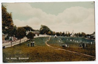 1.The small marquee on Blackbirds' Moor was the 'pavilion' in the early days of Boxmoor Cricket Club, founded in 1857. | Boxmoor Collection