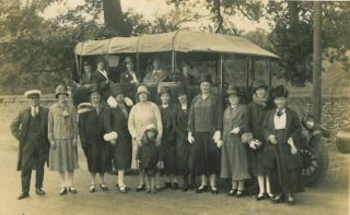 A photo which includes Emma Hall (nee Hearn) who is the 2nd lady from the left.