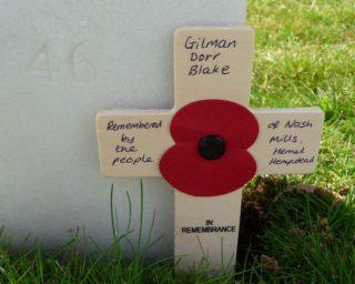 Remembrance cross | Photo: Anni Berman