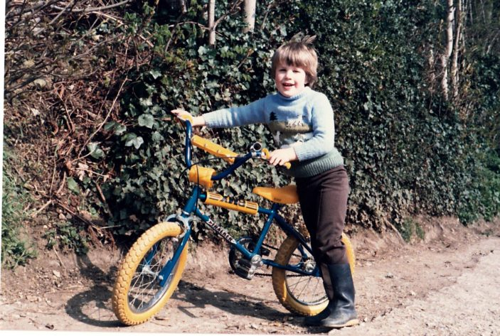 Danny and his BMX bike | Jacky Atkins