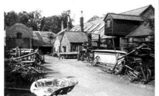 Early 20th Century picture of mill on Cotterells | Dacorum Heritage Trust