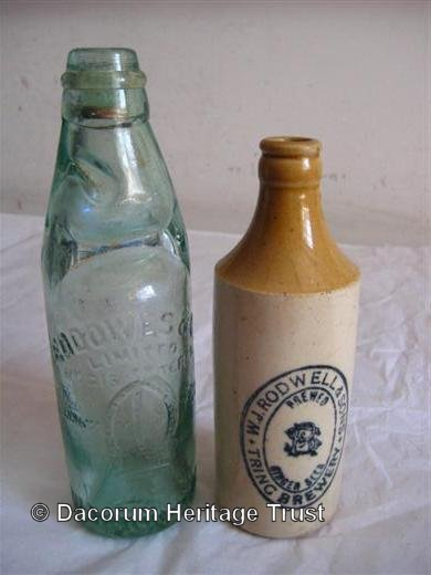 Lemonade and Ginger Beer bottles | Dacorum Heritage Trust