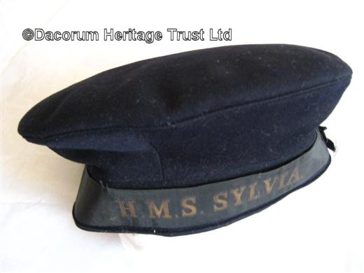 Blue sailor hat | Kings Langley Local History and Museum Society cared for by the Dacorum Heritage Trust