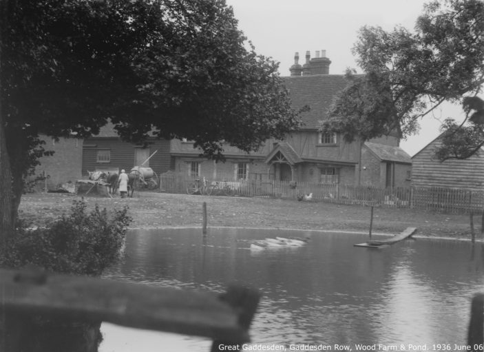 Wood Farm, Gaddesden Row, 1936 | Hertfordshire Archives and Local Studies