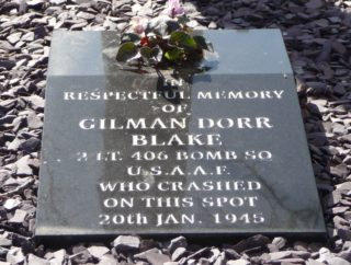 Plaque in the memorial garden   Photo: Anni Berman