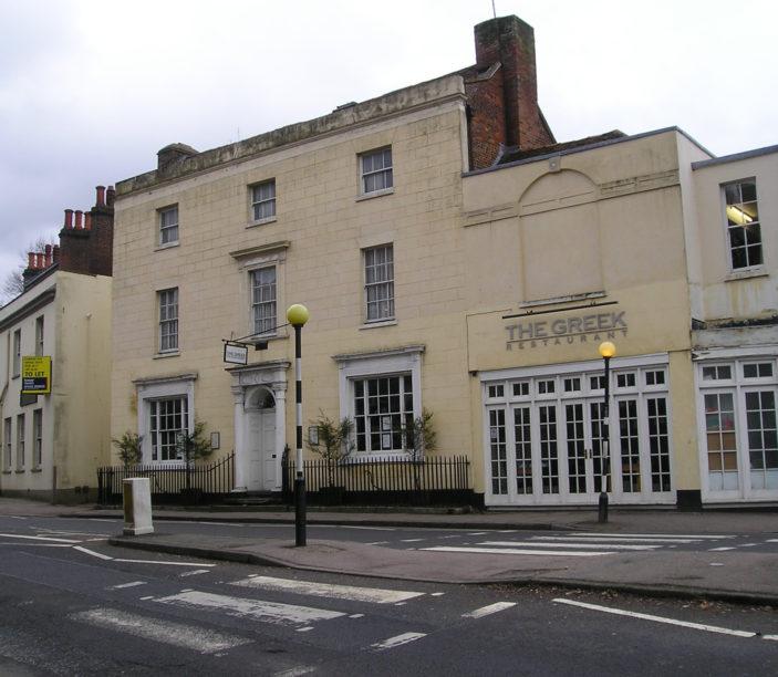 The Hemel Hempstead Club in January 2011.   Roger and Joan Hands