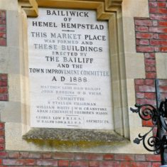 Plaque in the High Street market square | John Newberry