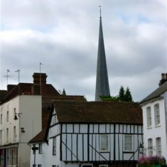 Tudor-style building in the High Street | John Newberry