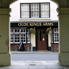 High Street pub seen through the Old Town Hall arches | John Newberry