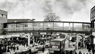 Footbridge over Marlowes | Hemel Library