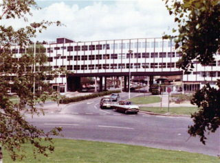 B.P. Building from Roundabout.(looking North) | Hemel Library