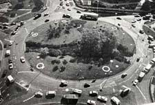 The plough roundabout on opening day