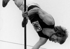 Pole Vaulting Closes Waterhouse Street
