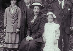 The Roberts family c1918