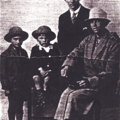 My Parents and brothers approx 1927 | By Joan Allen