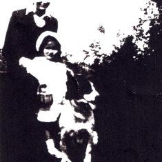 Arthur, Rose, Chum. Approx 1937   By Joan Allen