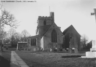 St Jojn the Baptist | Hertfordshire Archives and Local Studies