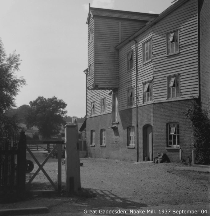 Noake Mill, 1939 | Hertfordshire Archives and Local Studies