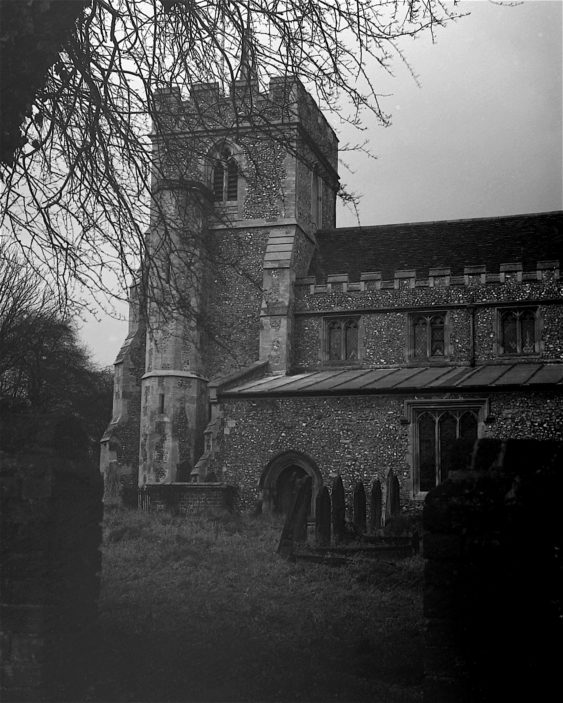 All Saints Church 15th January 1938 | Herts. Archives