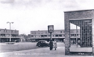 The Square, New Town of Adeyfield | Hertfordshire Archives and Local Studies