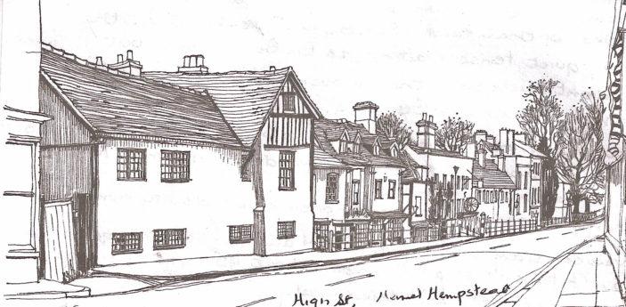 Old High Street   Joan Allen