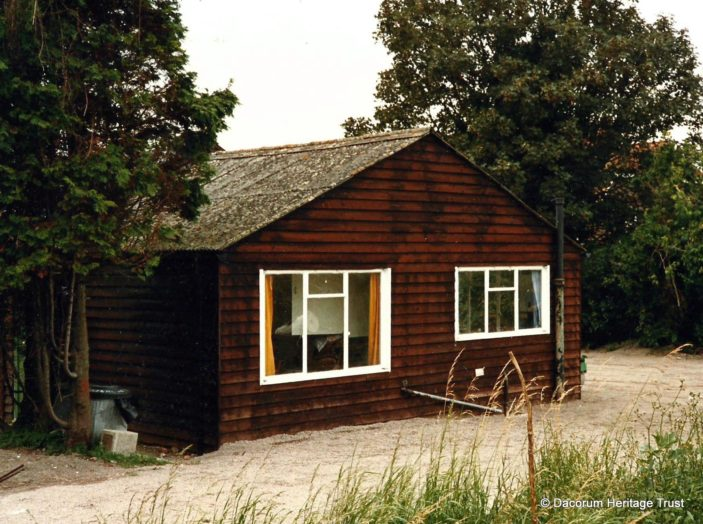 A wood building. Where was it or where is it? | DHT