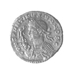 AE3 Constantine 11 found at the Cow Roast site   Berkhamsted District Archaeological Society cared for by the Dacorum Heritage Trust