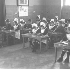 Foundling Hospital Nursery Class | Berkhamsted Local History and Museum Society cared for by the Dacorum Heritage Trust