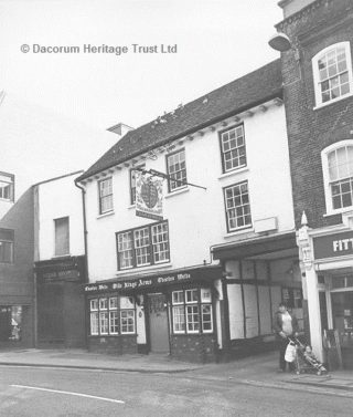 Olde Kings Arms High Street, Hemel Hempstead | Berkhamsted Local History and Museum Society cared for by The Dacorum Heritage Trust Ltd