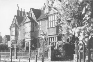 Egerton House, Berkhamsted the house where the LLewellyn-Davies family lived between1904 and 1907. Peter, the son of the family, inspired J.M. Barrie to write 'Peter Pan'. The building was demolished in 1937 and now Berkhamsted Rex Cinema sits on the site.   Berkhamsted Local History and Museum Society cared for by the Dacorum Heritage Trust